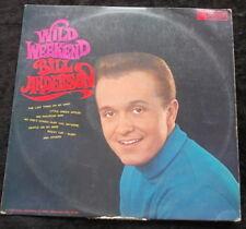 BILL ANDERSON Wild Weekend LP Australia 1968 SUPER CLEAN COPY