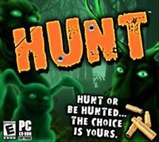 Video Game PC Hunt or be hunted the choice is yours NEW SEALED Jewel