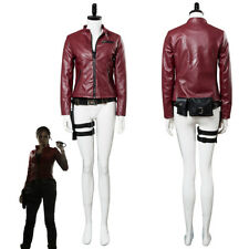Resident Evil 2 Remake Biohazard Re:2 Claire Redfield Cosplay Costume Jacket