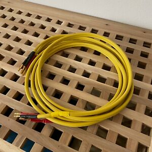 Audio Note - AN B - 2x2m Speaker cable - UK [ORIGINAL, UNMODIFIED] - Yellow