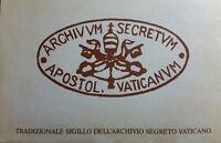 1984 VATICANO ARCHIVIO SEGRETO VATICANO FOLDER 5 CARTOLINE L.400 BB01
