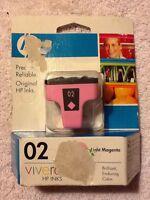 HP 02 Printer Ink Light Magenta ----- NEW