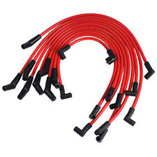 Red 10.5mm Set For Ford 5.0L 5.8L, SB SBF 302 Racing Spark Plug Wires JDMSPEED