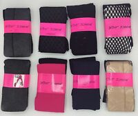 Betsey Johnson Fashion Tights 2 Pairs, New With Tags S/M - M/L Free Shipping NWT