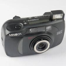 Minolta Riva Zoom 115 EX QD 35mm Kompaktkamera -Schwarz- Defekt (N016741)