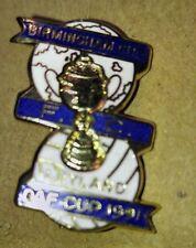 1 BIRMINGHAM CITY F.C. ENAMELED PIN