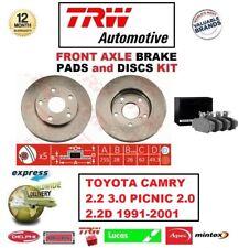 Für Toyota Camry 2.2 3.0 Picnic 2.0 2.2D 1991-2001 Vorderachse Bremsbeläge +