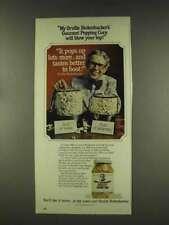 1977 Orville Redenbacher Gourmet Popping Corn Ad