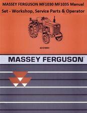 Massey Ferguson Mf1030 Mf1035 Manual Set Workshop Service Parts Amp Operator 3