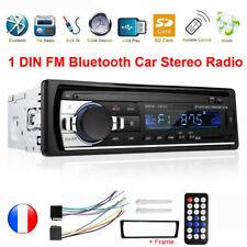 1DIN HD Autoradio Bluetooth Voiture Stéréo MP3 MP5 Lecteur USB FM AUX-IN FRANCE