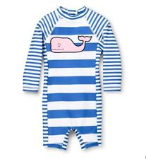 Vineyard Vines Target Rash Guard Swim Suit Romper One Pc Sold Out 12 mos Upf 50