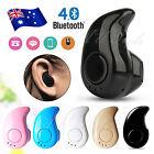 Wireless Mini Bluetooth Headset Stereo Earphone Headphone for iPhone Samsung AU