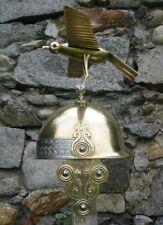 Brass Medieval Knight Reenactment Classic Celts Roman Celtic Helmet W Eagle