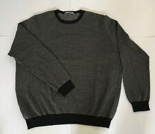Ermenegildo Zegna Mens XXL Long Sleeve Lightweight Cotton Sweater Pullover EUC