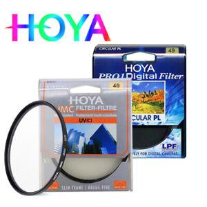 HOYA HMC UV(C) combination Hoya CIR CULAR PL 49mm multi-coated ultra-thin filter