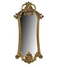 Antique Gold Accent Wall Mirror Home Decor Shabby Chic Ornate