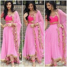 Indian Salwar kameez Bollywood Anarkali Dress Pakistani Designer Shalwar Suit