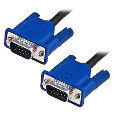 1.5M VGA SVGA 15 pin macho a macho Cable de plomo Azul TV TFT LCD monitor de PC Laptop