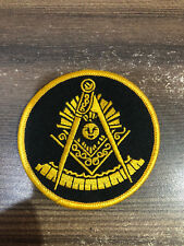 New PAST MASTER PATCHES 3 INCHES, MASONIC PATCHES, PAST MASTER PATCH, PM PATCH