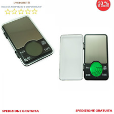 BILANCIA ELETTRONICA BILANCINO DI PRECISIONE DIGITALE LCD PESA 0,01g 600g PESO