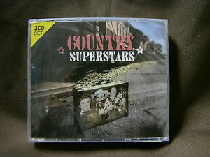 Country Superstars 3 CD Set