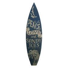 "BEACH SURF BOARD SIGNS CHOICE OF 2 STYLES 4.63/""W x 9.63/""T RETRO HOME DECOR WALL"