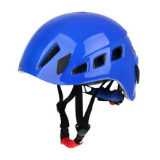 Climbing Safety Helmet Caving Abseiling Rescue Hard Hat Head Protector Blue