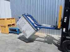 Forward Bulk Bin Tipper Hydraulic Forklift Attachment Sydney Stock Negotaible