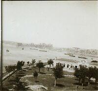 Turchia Costantinopoli Foto Stereo Placca Da Lente VR11p