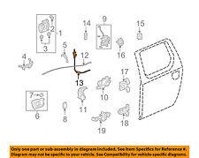 HONDA OEM 06-14 Ridgeline Lock -Rear Door-Control Cable Right 72633SJCA00