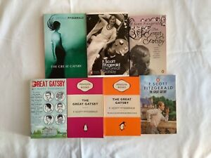 The Great Gatsby by F. Scott Fitzgerald - various Penguin editions New PB Books