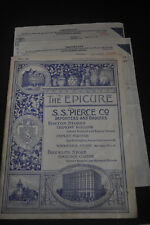 1924 The Epicure - SS Pierce Company Boston Home*Club*Yacht*Camp Supply Catalog