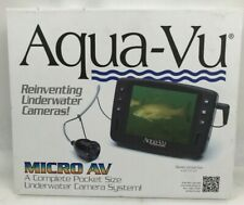 🔥🐳Aqua-Vu Micro AV Underwater Camera & Accessories *NEW OPEN BOX🐳🔥
