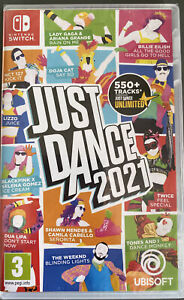 NINTENDO SWITCH Just Dance 2021 Game,Brand new & sealed