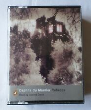 Daphne du Maurier: Rebecca [Cassette Audio Book] Read by Joanna David