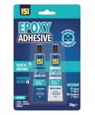 NEW Epoxy Adhesive Glue Resin Bond Activator Hardener Repair Metal Wood Plastic
