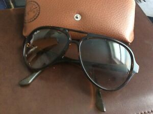 Aviator  RAY BAN Sunglasses CATS 5000 Tortoise RB 4125 710/51 Gradient Brown