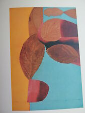 Josef Albers Original Silkscreen Folder XXV-2 Right Interaction of Color 1963