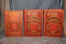 lot de 3 Jules Verne collection Hetzel Hachette