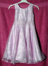 New without Tags Girls Pretty Pink Sparkly Party Dress - Age 6-7 yrs