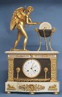 Early 19th century French Animated Mantle Clock.