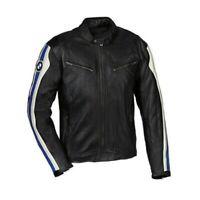 BMW Uomo Motociclo motocicletta Pelle Giacca biker Armatura giubbotti EU 50-60