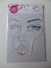 *NEW* Jane Davenport Clear Acrylic Stamp 'Large FACE'