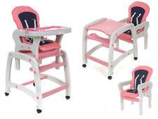 Baby Kombi Hochstuhl - 4 IN 1- Pink Farben (D)