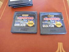 Sega game gear portable-Région Libre offre/Moissonneuse-STRIDER RETURNS