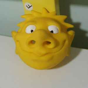 SAUCE BOTTLE TOY YELLOW FUNNY FACE MAKE THE SAUCE COME OUT HIS NOSE!