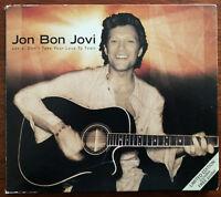 Jon Bon Jovi Janie, Don't Take Your Love To Town CD Single Digipak – Ex