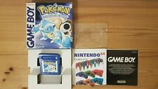 Pokemon Blaue Edition Game Boy 1999