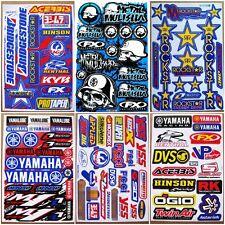 Drift Car Moto-GP Supercross Dirt Rider MX1 Motocross Racing Stickers 6 sheets