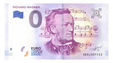 0 Euro Schein Richard Wagner XEDJ 2018-1 Souvenirschein Souvenir Null € Banknote